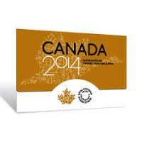 Official Coin Set of Canada, 2014g.
