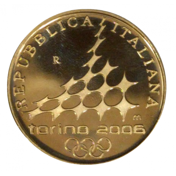 Gold coin xx olympic winter games in torino italy 20 for Coin torino