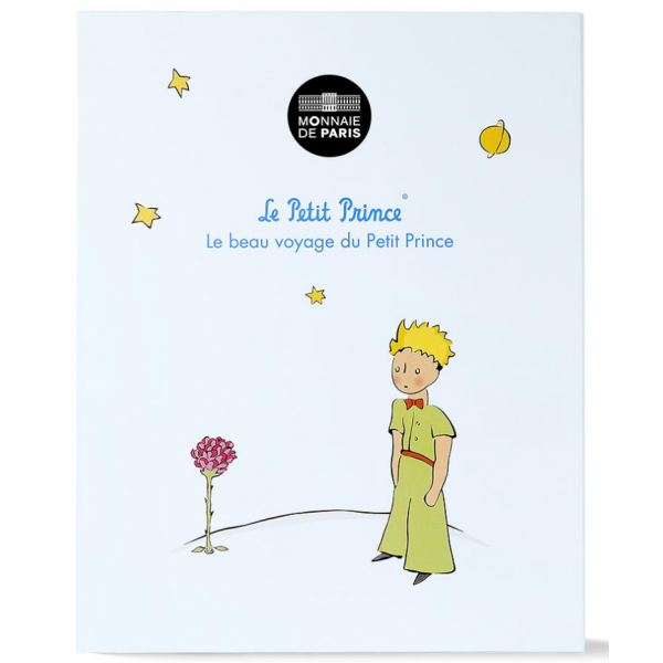 Silver Coin The Little Prince France 50 Euro 41 G 900 2016