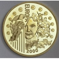 """Gold coin, """"Europe"""", France, 8,45g., purity 920"""