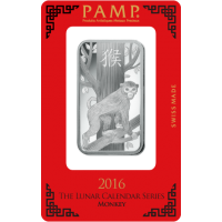 Silver bar - Lunar calendar - Year of the Goat 2016, 1 oz