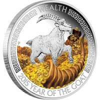 Lunar Good Fortune - Wealth - Year of the Goat, 1 oz