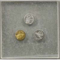 Smallest Coin Set (Platinum, Gold, Silver)