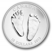 Silver Coin for baby - Welcome to the World 2013, 15.55 gr., 999