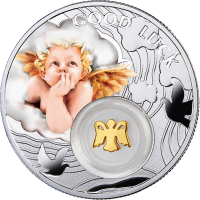 Silver coin - Angel - 14,14gr., purity 999