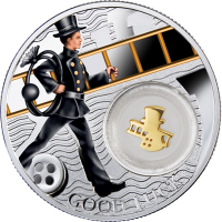 Silver coin - Chimney Sweep - 14,14gr., purity 999
