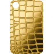 PAMP Gold Pendadnt Bar - Crocodile's skin